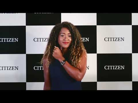 Naomi Osaka signed as CITIZEN's new brand ambassador watches