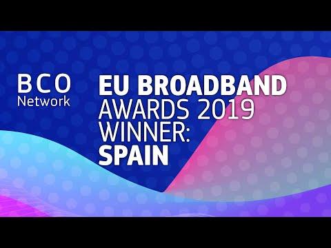 EU Broadband Awards 2019 winner: Spain photo