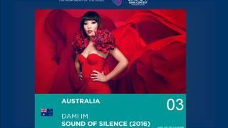 [AUSTRALIA] Dami Im - Sound Of Silence - European Song Contest