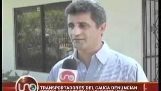 Transportadores del Cauca denuncian irregularidades en la administración