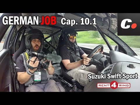 GERMAN JOB Cap. 10 - Bonus Track 1 | Nürburgring Nordschleife | Suzuki Swift Sport | coches.net