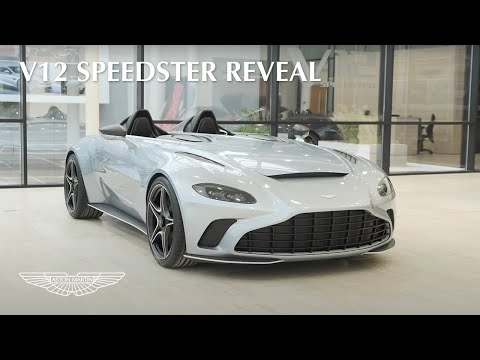 #AstonMartinMotorshow 2020 | Lawrence Stroll, Andy Palmer and Mr JWW reveal V12 Speedster