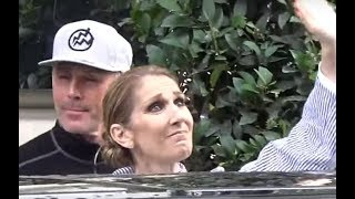 Céline DION almost cries @ Goodbye to Paris Hotel Staff / august 10, 2017 / aout