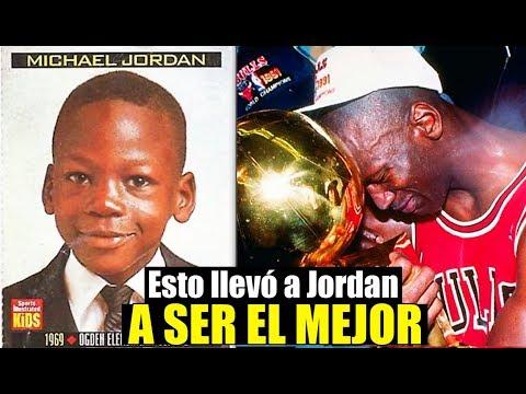 La Impactante Conmovedora Historia De Michael Jordan Y El Por Que Se Retiró De La NBA