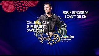 ROBIN BENGTSSON - I CAN'T GO ON - LETRA EN ESPAÑOL - EUROVISION 2017 - SUECIA