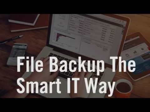 File Backup the Smart IT Way