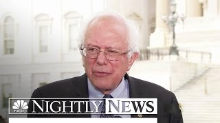 Bernie Sanders Challenges Clinton For 2016 Nomination | NBC Nightly News