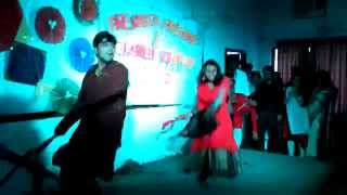 Rimix Kawali Performed by Projesh & Aunima in BMB Fresher's 2015