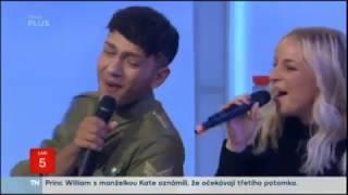 """J.Bendig ft. M.Konvičková - """"Toužím"""" live (Snídaně s Novou 5.9.2017)"""