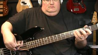 The Pretenders Back On The Chain Gang Bass Cover with Notes and Tablature