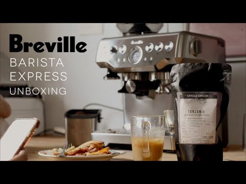 Coffee Lover's Dream. Unboxing My First Espresso Machine and Using It For The First Time