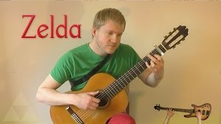 The Legend of Zelda (NES) - Title Theme (Acoustic Classical Guitar Cover by Jonas Lefvert)