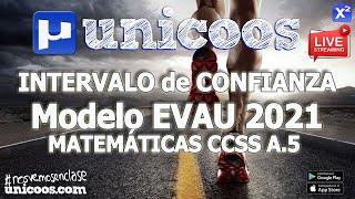 Imagen en miniatura para LIVE!!! Modelo EvAU 2021 - Matemáticas CCSS 07 - Ejercicio A.5 Distribución normal
