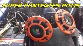 Hyper Potentes Pitos Claxon Cornetas para tu Auto Tuning - 4x4 RMS Ecuador