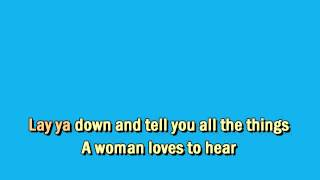 Conway Twitty - I'd Love To Lay You Down - Karaoke Instrumental