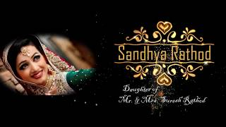Traditional Hindu Wedding Invitation Video || Royal Wedding || 2018 Mr.Bro
