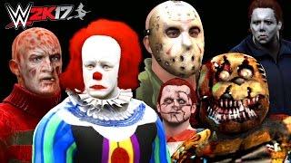 Download video: WWE 2K15 - Freddy VS Jason VS Michael ...