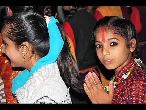 Dancing in the Streets during Nepal's Tihar Festival