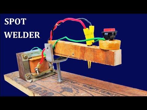 How to make 220v Spot Welding Machine with 100A Transformer