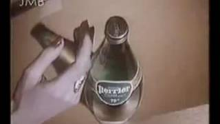 SUGGESTIVE PERRIER COMMERCIAL