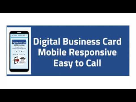 Digital Business Card for your business || #BizDigitalCard.com