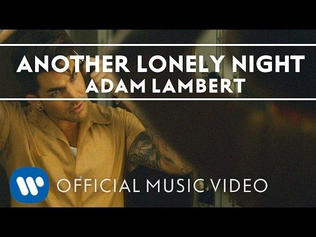 Video oficial de Another Lonely Night de Adam Lambert