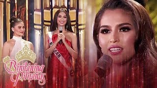 Top 15 Question and Answer Portion | Part 1 | Binibining Pilipinas 2019 (With Eng Subs)