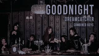 GOODNIGHT - DREAMCATCHER ft. Satan (combined keys - USE HEADPHONES)