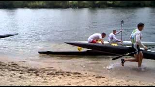 portagens europeu canoagem maratona prado 2013