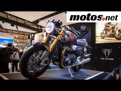 Triumph 2020   Salón de Milán / EICMA / Preview en español