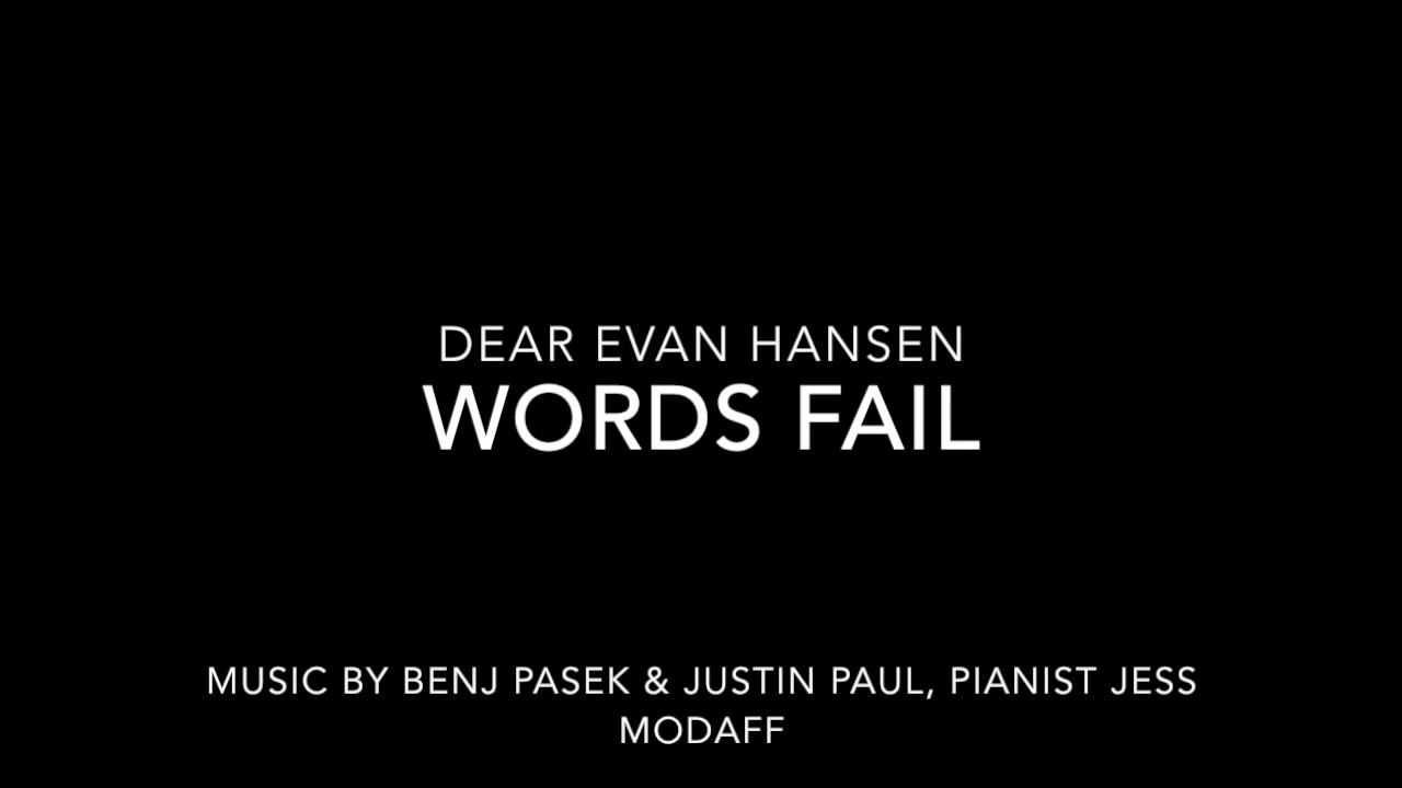 Dear Evan Hansen Broadway In Arizona April