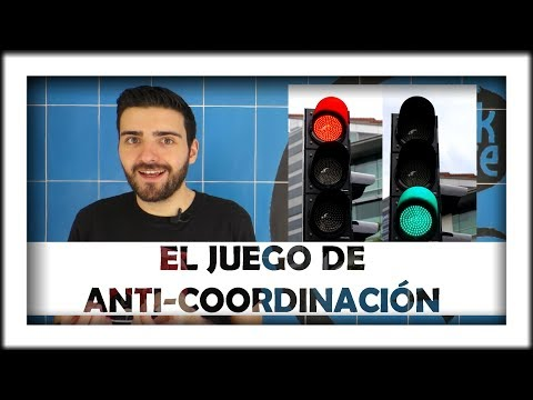 ¿Qué es un juego de anti-coordinación? (Teoría de juegos)