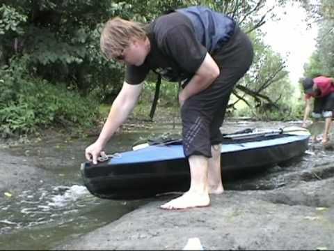 My travel on a kayak on the river the Vorskla