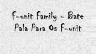 F-unit Family - Bate Pala Para Os F-unit.wmv