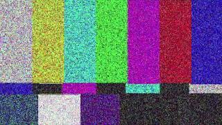TV No signal screen effect