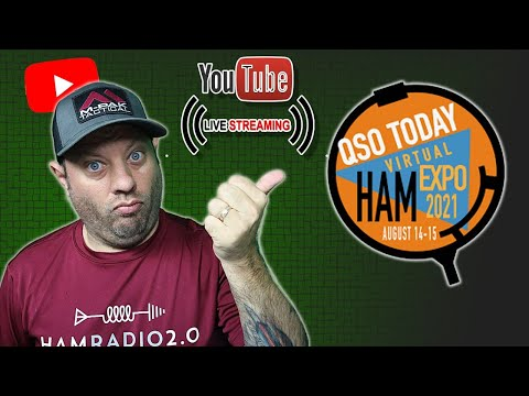 Lunchtime Livestream with Eric, 4Z1UG, from the QSO Today Ham Expo