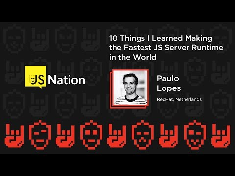 10 things I learned making the fastest JS server runtime in the world – Paulo Lopes