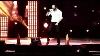 Akshay Kumar singing Teri Meri Kahaani live in US : The Fusion Tour 2015 Old video