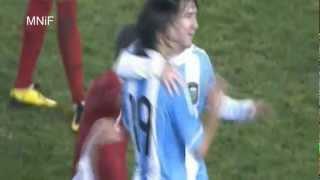 Lionel Messi - Top 6 Goals for Argentina   HD
