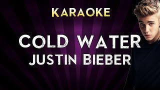 Major Lazer - Cold Water (feat. Justin Bieber & MØ) | HIGHER Key Karaoke Instrumental Lyrics Cover