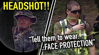 Airsoft Sniper Reported For HEADSHOTS 😱(really?)