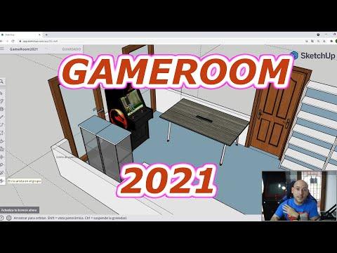 #GAMEROOM 2021 Paseo por el nuevo cuarto de juegos