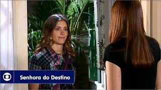 Senhora do Destino: capítulo 143 da novela, segunda, 2 de outubro, na Globo