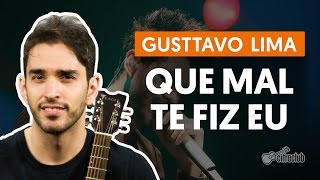 Videoaula Que Mal Te Fiz Eu (violão)