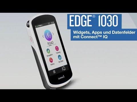 Garmin Edge® 1030 Tutorial – Widgets, Apps und Datenfelder mit Connect™ IQ