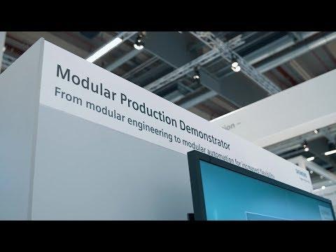Siemens Modulare Produktion - Erhöhte Flexibilität