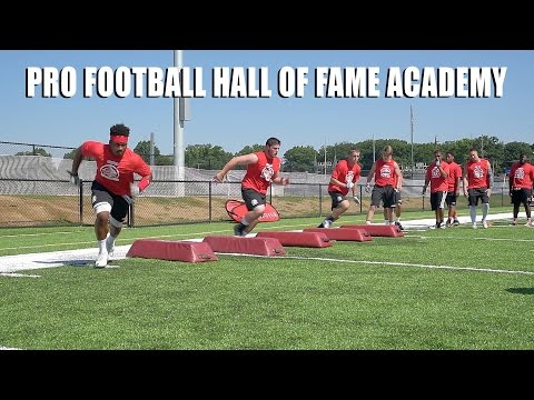 Elite Prospects Experience a New Era of Training at the Pro Football Hall of Fame Academy