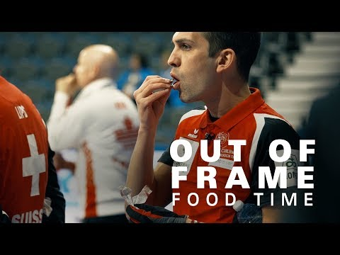 Out of Frame… World Championship Fifth End Break Snacks