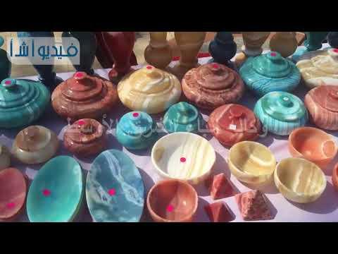 بالفيديو: وزارة التضامن الإجتماعي تقيم معرض الأسر المنتجة بالاوبرا
