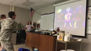 Classmates Dance to Rick Ashley